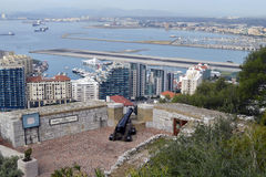 Gibraltar overview Stock Images