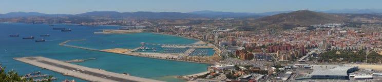 Gibraltar Panorama Royalty Free Stock Image