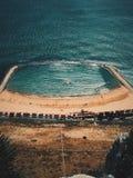 Gibraltar reklamy plaża Obrazy Stock