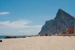 Gibraltar, a rocha Imagem de Stock Royalty Free