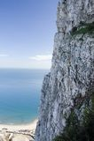 gibraltar rock Arkivfoton