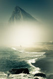 gibraltar rock Arkivbild
