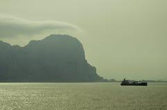 Gibraltar rock Stock Images