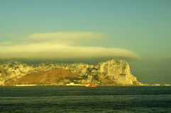 Gibraltar rock Royalty Free Stock Photography