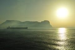 Gibraltar rock Royalty Free Stock Photography