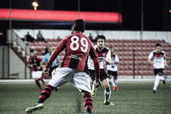 Gibraltar Rock Cup Quarter Finals -  football - Manchester 62 0 Royalty Free Stock Photography