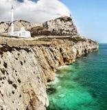 Gibraltar Rock, Europa Point, Mosque royalty free stock photos
