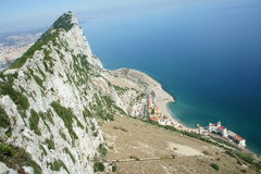 Gibraltar Rock Royalty Free Stock Photo
