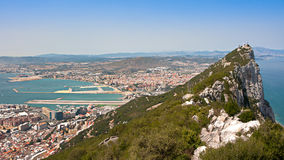 Gibraltar Rock view Stock Photography