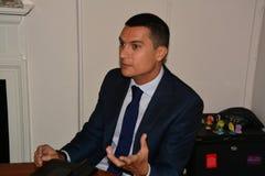 Gibraltar rząd wszczyna kidzone środowiskową świadomość Obrazy Stock