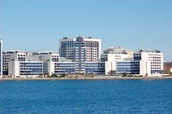 gibraltar sjukhus Arkivfoto