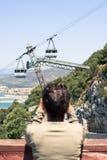 Gibraltar skała Obraz Royalty Free