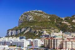 Gibraltar skała zdjęcia stock