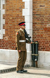 Gibraltar soldier Royalty Free Stock Image