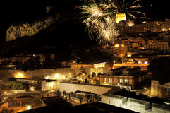 Gibraltar Sparkles Stock Image