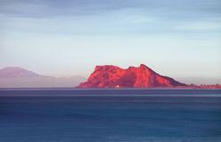 Gibraltar Sunrise Royalty Free Stock Photo