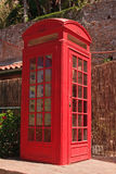 Gibraltar Telephone Box Royalty Free Stock Photo