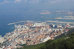 Gibraltar Town Royalty Free Stock Photo