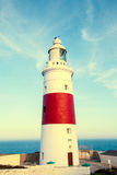 Gibraltar Trinity Lighthouse Stock Photography