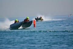Gibraltar - trueno Cat Racing European Championships 2014 Imagen de archivo libre de regalías