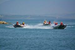 Gibraltar - trueno Cat Racing European Championships 2014 Foto de archivo