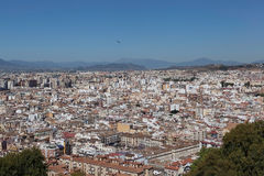 Gibraltar. View from the Rock of Gibraltar. Royalty Free Stock Photography