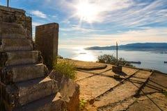 Gibraltar wierzchołek skała Obrazy Royalty Free