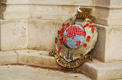 Gibraltar wreath Royalty Free Stock Image