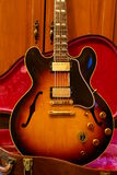 Gibson ES 345 Vintage Guitar Royalty Free Stock Image