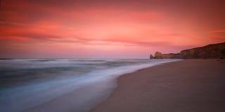 Gibson går soluppgången, tolv apostel, stora Ocea Arkivfoton