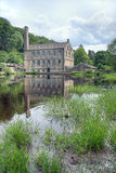 Gibson Mill, Hardcastle Crags Stock Image