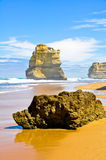Gibson Steps And The Twelve Apostles, Australia Royalty Free Stock Photography