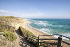 Gibson Steps and beach, Great Ocean Road, Victoria Stock Images
