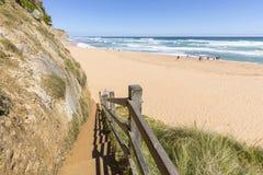 Gibson Steps, grande strada dell'oceano, Victoria, Australia Fotografia Stock