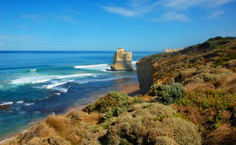 Gibson Steps, Great Ocean Road, Australia. Royalty Free Stock Photos
