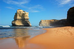 Gibson Steps, Great Ocean Road, Australia. Royalty Free Stock Photography