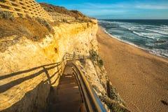 Gibson Steps sulla grande strada dell'oceano Fotografie Stock Libere da Diritti