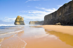 Gibson Steps and the Twelve Apostles, Australia Royalty Free Stock Photo
