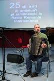 Gica Coada Aromanian piosenkarz Zdjęcia Stock