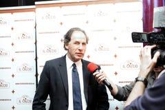 Gica Hagi awarded Franco Baresi Stock Images