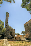 Gicon site, ancient signal tower, Provence, South of France Stock Photos
