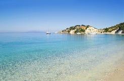 Gidaki beach at Ithaca Greece Royalty Free Stock Photography