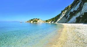 Gidaki beach Ithaca Greece Stock Image