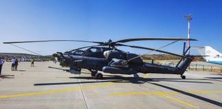 Gidroaviasalon军用直升机2014年 库存照片