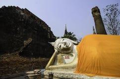 Gids voor Si Ayutthaya van Phra Nakhon Stock Foto