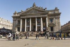 Giełda budynek w Bruksela fotografia royalty free