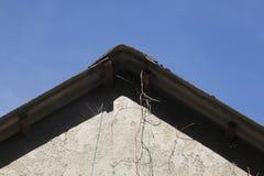 Giebel und Dach Lizenzfreie Stockbilder