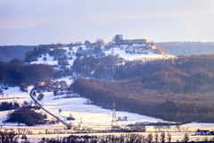 Giechburg Winter Castle Stock Photography