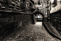 Giechburgkasteel in Franconia, Duitsland stock fotografie