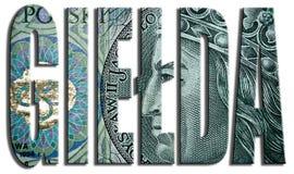 Gielda, mercado de acción 100 PLN o textura polaca del Zloty stock de ilustración